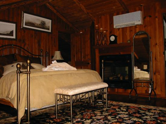 The Chalet of Canandaigua: The balcony room