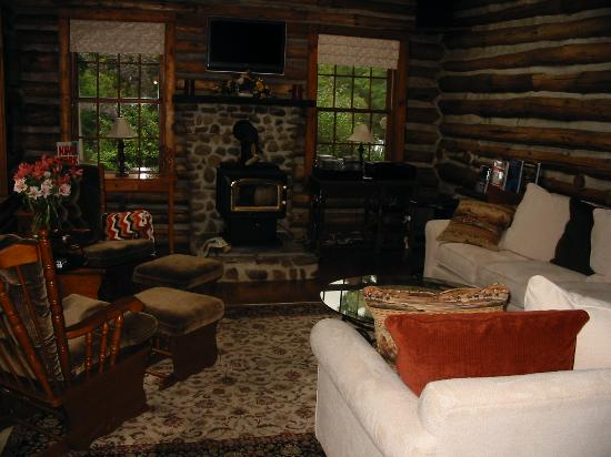The Chalet of Canandaigua: SITTING AREA
