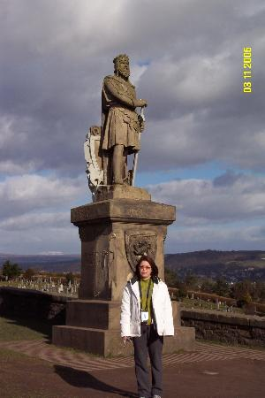 5 Dean Park Crescent : with Richard the Bruce at Castle Stirling