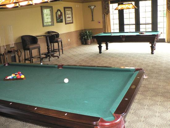Lighthouse Key Resort and Spa: Billiards room