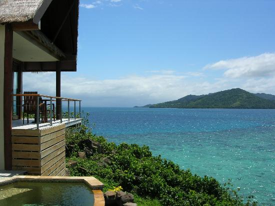 Royal Davui Island Resort: view from suite 12