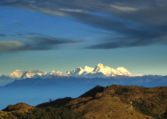 Darjeeling, Indie: EVEREST from SANDAKPHU