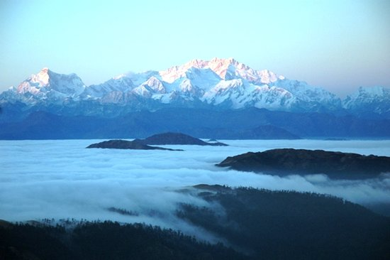 Darjeeling, India: KANCHENJUNGA FROM SANDAKPHU