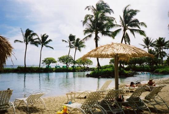Waipouli Beach Resort: Ahhh...relaxing in Paradise