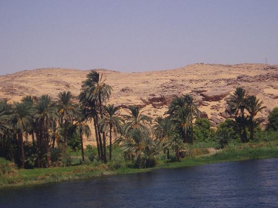 Lembah Sungai Nil, Mesir: Nile landscape