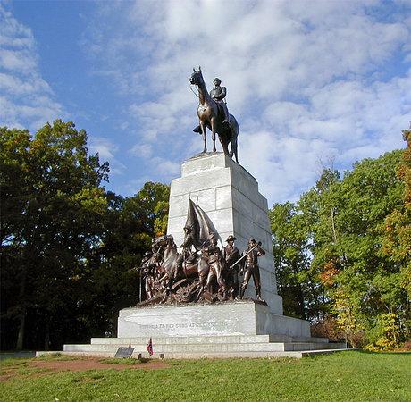 เก็ตตีสบูร์ก, เพนซิลเวเนีย: Virginia Monument, Gettysburg National Military Park, Gettysburg, Pennsylvania, United States
