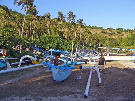 la plage du puri baggus CANDIDASA