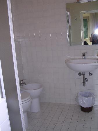 Hotel Moderno : immaculate bathroom