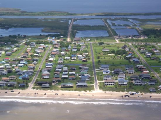 Crystal Beach Aerial