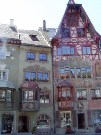 Hotel Rheinfels: Buildings in Stein am Rhein