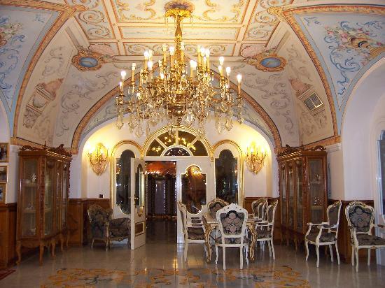 Grand Hotel La Sonrisa: der Eingansbereich