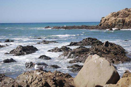 Cambria, Californië: Moonstone Beach