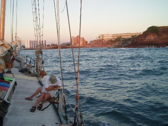 Patricia Belle - Sail Bandido: Mazatlan from the boat!