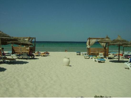 One Resort Monastir: plage privée de l'hotel