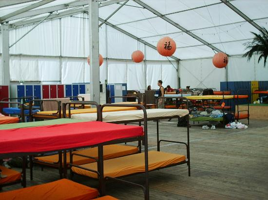 The Tent Munich: The Tent with the Bunk Beds