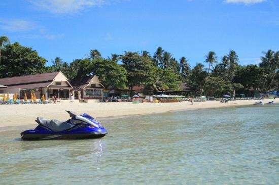 Malibu Koh Samui Resort & Beach Club: Panorama accanto il Malibù