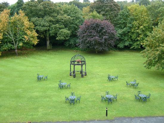 Best Western Beamish Hall Country House Hotel: View from room 206
