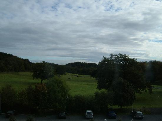 Best Western Beamish Hall Country House Hotel: View from room 209