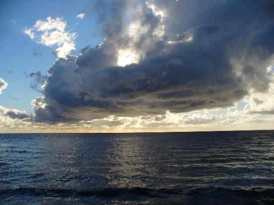 Ocean Haven Bed & Breakfast: evening sky