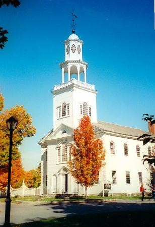 Беннингтон, Вермонт: Old First Congregational Church, Bennington, Vermont, United States