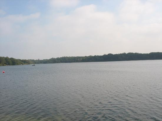 Scargo Manor Bed and Breakfast: Scargo Lake from the dock