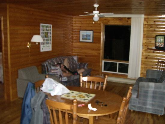 Gros Morne Cabins: Living Room