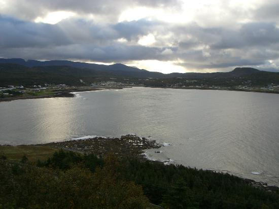 Gros Morne Cabins: Rocky Harbour From Lobster Cove Lighthouse