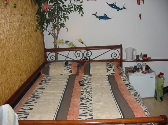 B&B Barangay: Das Bett