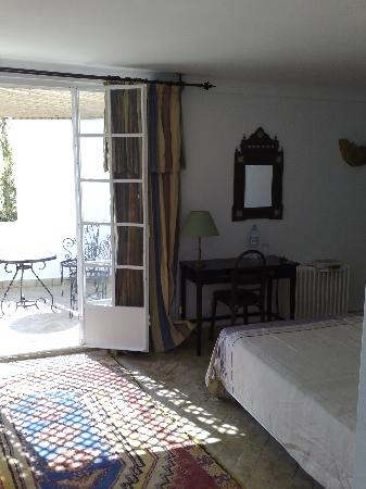 La Tangerina : Our own little private terrace with a view of Tangier