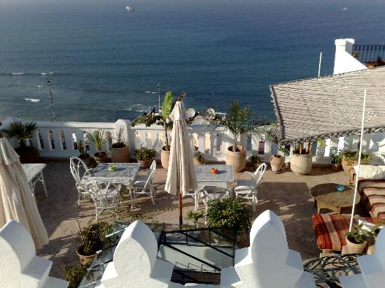 La Tangerina: The rooftop terrace