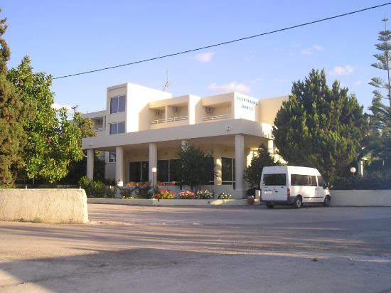 Hotel Eleftheria: Ingresso Hotel
