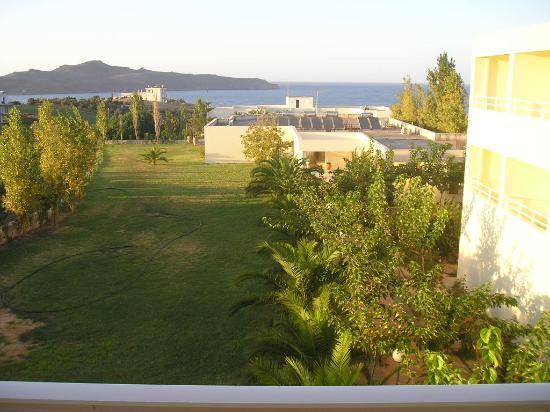 Hotel Eleftheria: Giardino