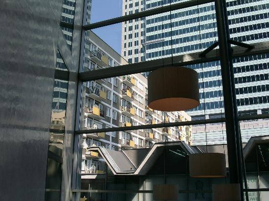 InterContinental Hotel Warsaw: view from lobby