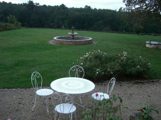 Le Domaine de Foncaudiere: The garden