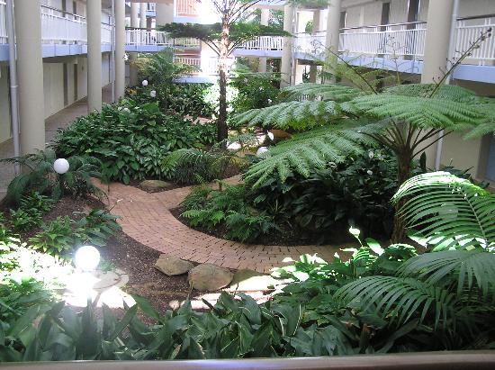 sea world resort motel indoor gardens