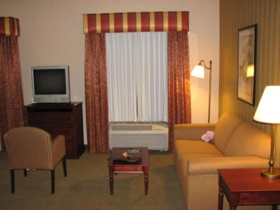 Hampton Inn & Suites Albuquerque - Coors Road: Spacious sitting area