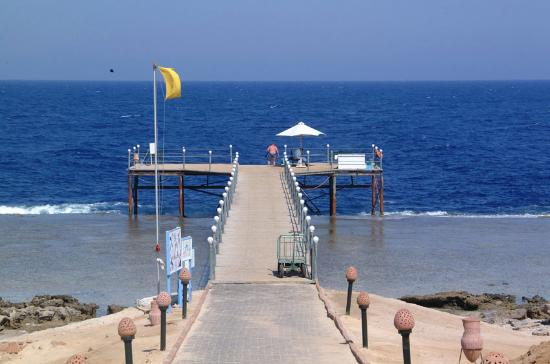 LTI Akassia Beach: primary jetty