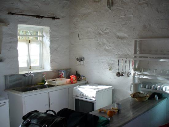 Anezina Village: The kitchen area