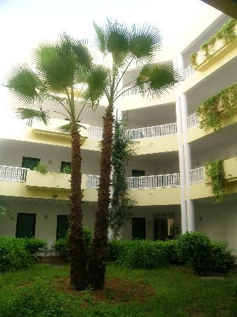 One Resort Monastir: cour intérieure annexe
