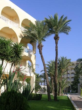 One Resort Monastir: annexe + hotel au fond