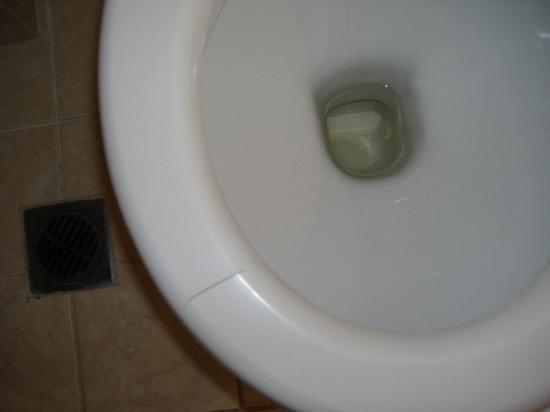 Mitsis Norida Beach Hotel: broken toilet seat- never repaired