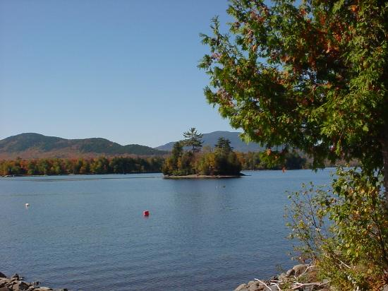Birch Point Cabins : There are several islands on Moosehead Lake