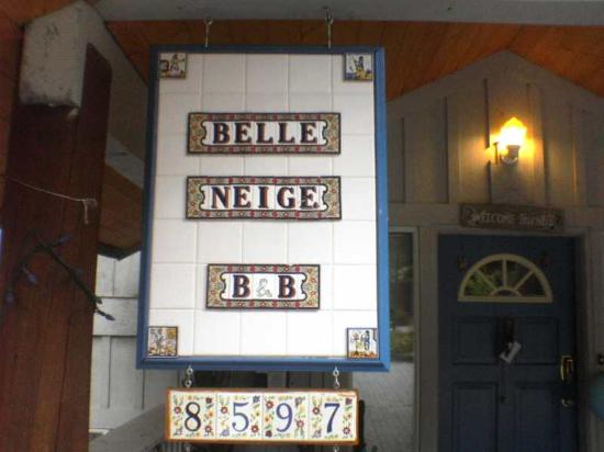 Belle Neige Suites: Whistler: Wellcome!