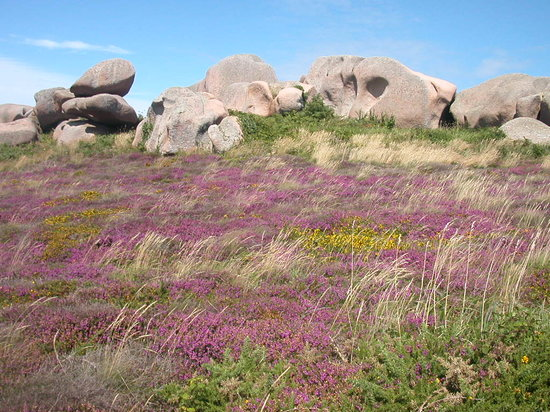 Brittany, Prancis: The Pink Granite Coast - Ploumanac'h