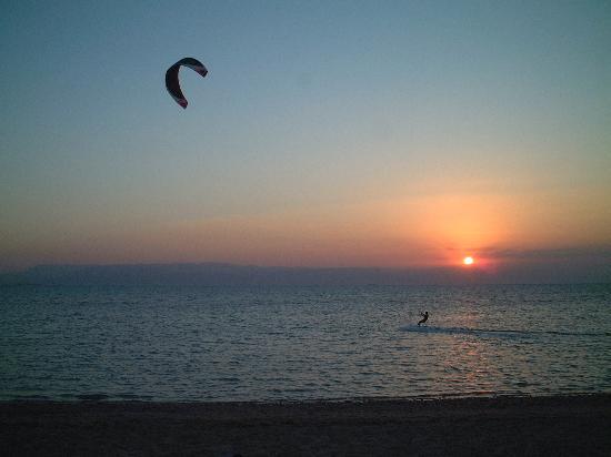 Ras Sudr, Egipto: Kiting at sunset