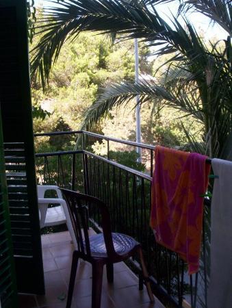Hostal Valencia : La terrasse fort agréable!