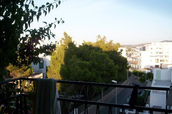 Hostal Valencia: Vue (du 3è étage)