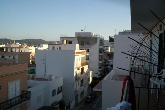 Hostal Valencia: Vue 2 (du 3è étage)