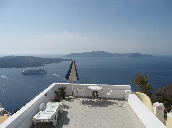 Villa Renos: That view again!