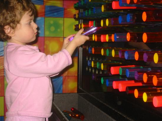 The New Jersey Children's Museum: New neat lightbox thing